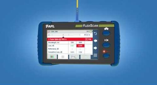 AFL FlexScan OTDR Product Demonstration [French Version]