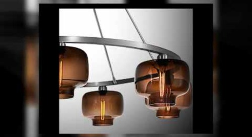 Modern Chandeliers in Chocolate by Niche Modern