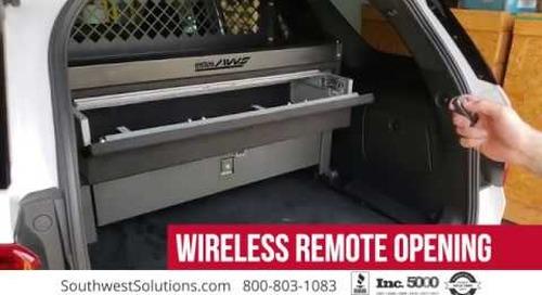 SUV Gun Locker Safes Vehicle Weapon Storage Cabinet