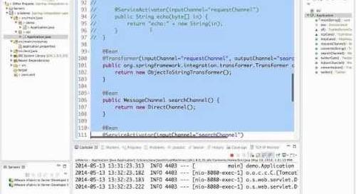 Webinar: Spring Integration 4.0 - The New Frontier