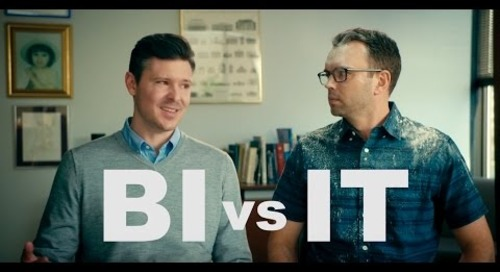 BI vs. IT: The Struggle for Data Ends Now- Teaser