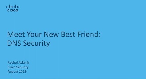 Your New Best Friend: DNS Security