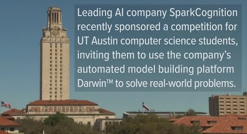 Automated Model Building Competition at the University of Texas
