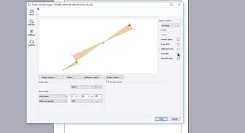 Timber rafter design (EN1995)