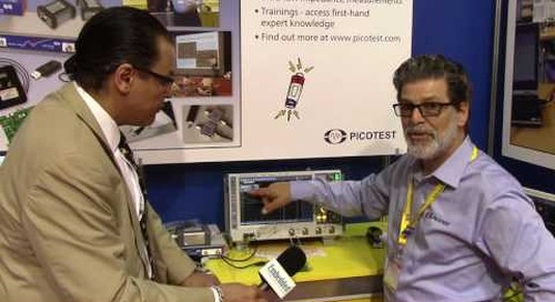 PCIM: Picotest describes their latest harmonic comb for test systems