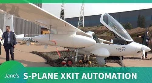 S-PLANE Automation's xKIT automation system for manned and unmanned air vehicles (AAD 2018)