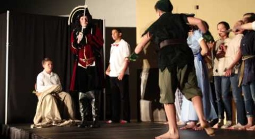 The Middle School presents Peter Pan