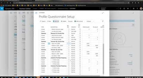 Overview of the Dynamics 365 Business Central CRM Module