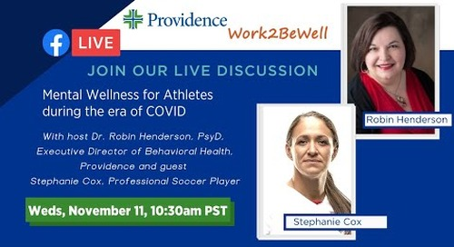 Mental Wellness for Athletes during the COVID era