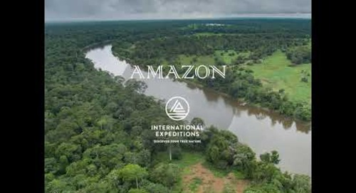 Just Back From the Amazon! Preview IE s Luxury Amazon Cruise