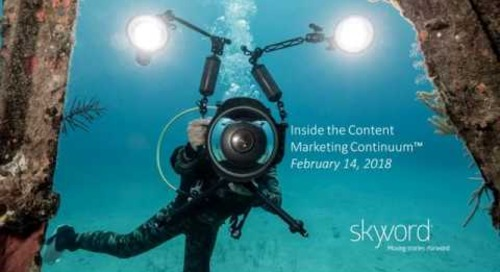 Inside the Content Marketing Continuum [Webinar]