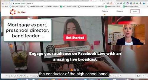 Tech Tip: BeLive Video