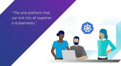 VMware Legends: How a Financial Customer Replatformed a Monolithic App on Kubernetes