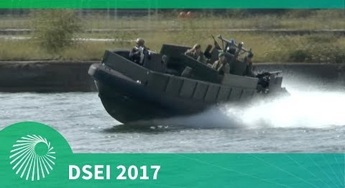 DSEI 2017: Waterborne demonstration