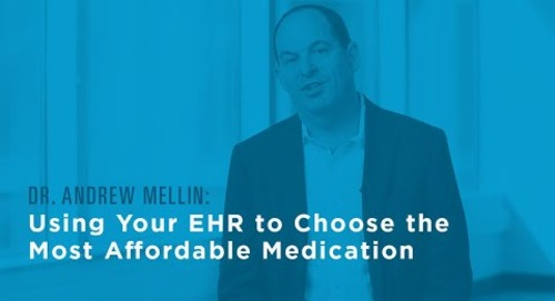 Using Your EHR to Choose the Most Affordable Medication