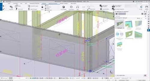 Ahorre tiempo creando o convirtiendo estructuras de IFC o DWG a objetos de modelo de Tekla