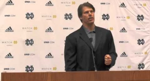 Notre Dame DC Brian VanGorder Introductory Press Conference
