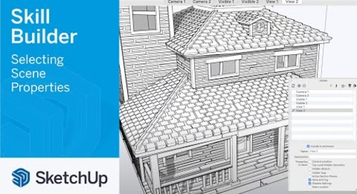 [Skill Builder] Selecting Scene Properties