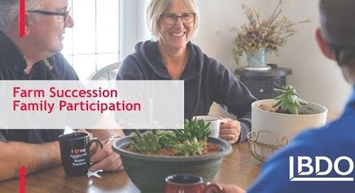 Farm Succession: Family participation | BDO Canada
