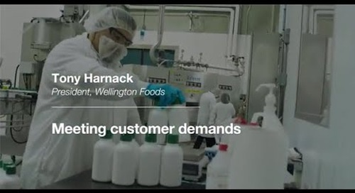 MasterControl Customer Testimonial-Meeting Customer Demands  by Wellington Foods
