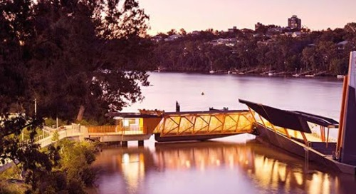 Think possible: The story about the award-winning Brisbane Ferry Terminals