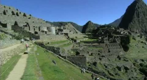 Scenes from Machu Picchu