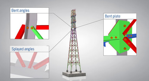 Tekla software for transmission towers