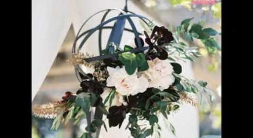Hanging Centerpieces to Upgrade your Wedding Tablescape