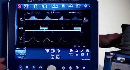 Puritan Bennett 980 Ventilator - Clinical - PAV+ Software