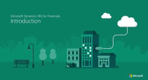 Introduction to Dynamics 365 for Finance and Operations, Business edition