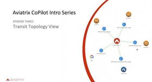 E3 Aviatrix CoPilot Transit Topology View