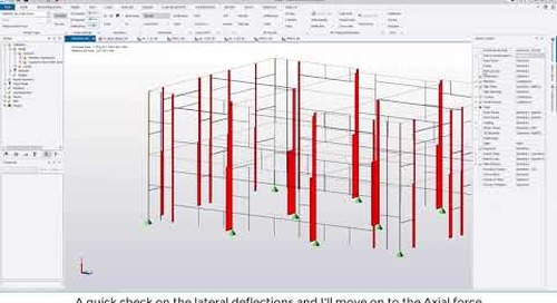 Tekla Structural Designer 2020 - Designing timber using Tekla Tedds and TSD