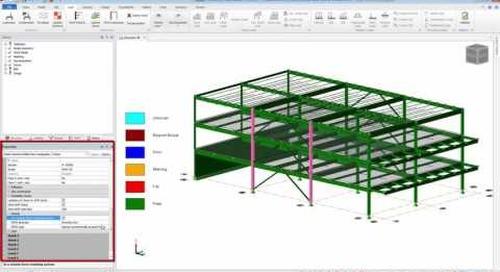 Tekla Structural Designer Seismic Steel Design