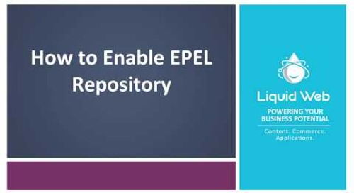 How To Enable The EPEL Repository On CentOS