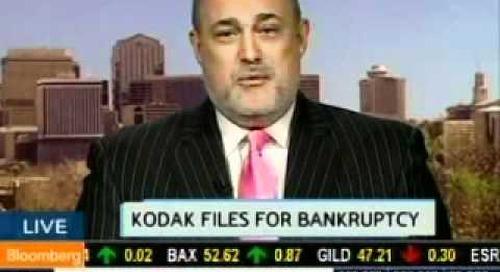 Bloomberg TV with Jeffrey Hayzlett on Kodak
