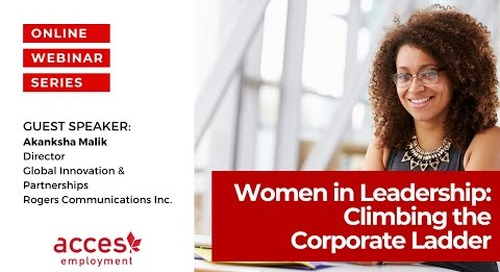 Women in Leadership: Climbing the Corporate Ladder in the Canadian Workplace