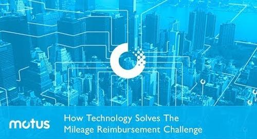 How Technology Solves Your Mileage Reimbursement Challenge