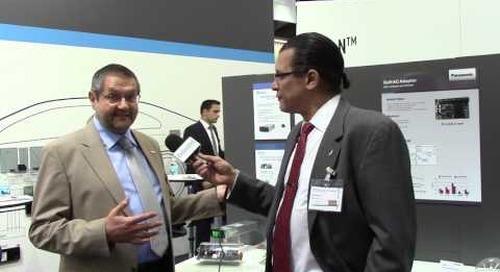 PCIM: Panasonic talks GaN devices