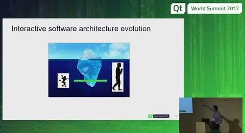 QtWS17 - Interactive DOOH software with Qt libraries, Ionut Alexandrescu, The Qt Company