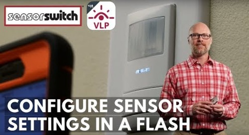 Sensor Switch Mobile App - Configure Sensor Settings in a Flash