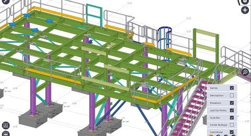 Tekla Structures to Trimble Field Link Workflow