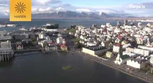 HARPA conference centre Reykjavik Iceland