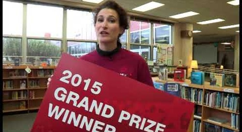 O'Neill Middle School Learns It Is The Grand Prize Winner!