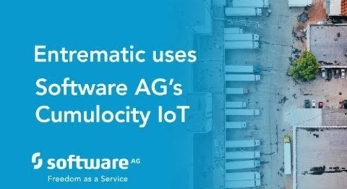 Entrematic uses Software AG's Cumulocity for IoT