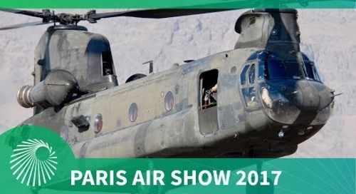 Paris Air Show 2017: US Army CH-47F Chinook