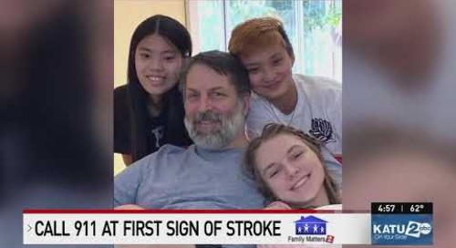 Providence KATU Family Matters 5/21/21 4pm News: Stroke Call 911 – Dr. Lowenkopf