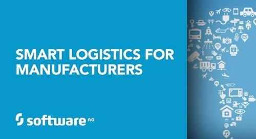 Software AG's Smart Logistics for Manufacturers