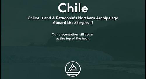 Webinar: Chiloe Island & Patagonia's Northern Archipelago
