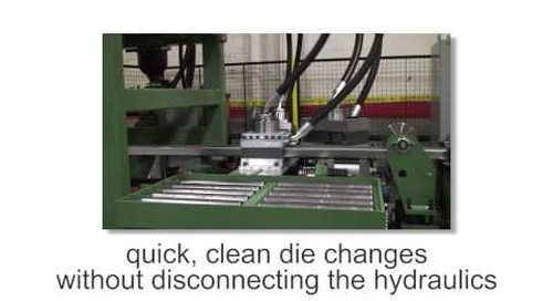 Samco Machinery Greenfield™ Stud and Track Rollforming Line
