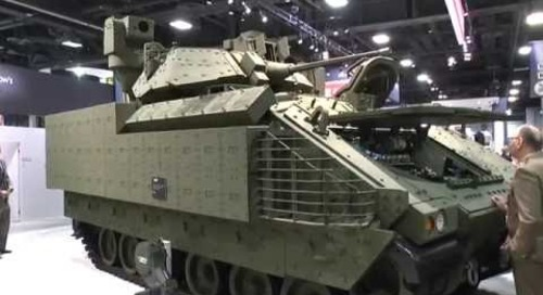 AUSA 2016: BAE Systems debut Bradley Next Generation Prototype